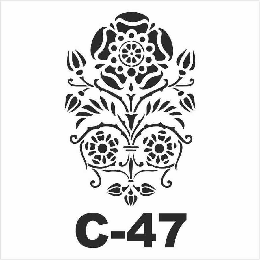 c 47 artebella stencil 15x20 cm 597064 14 B