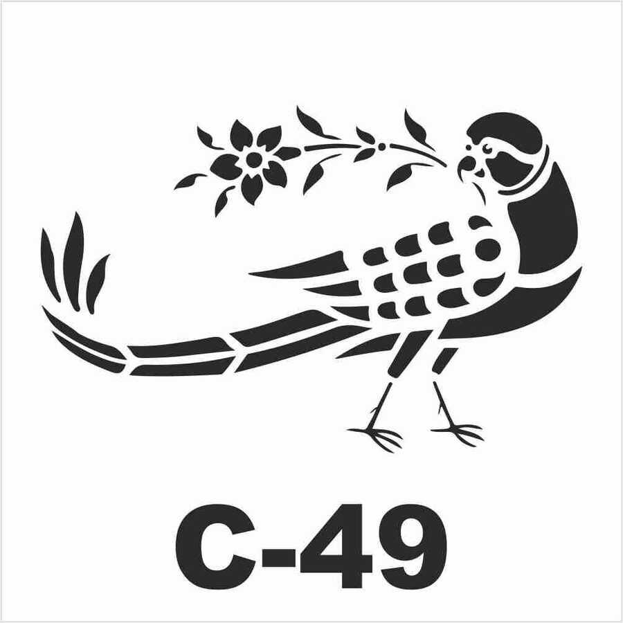 c 49 artebella stencil 15x20 cm 602472 15 B