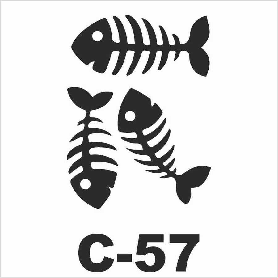 c 57 artebella stencil 15x20 cm 602476 14 B -Artebella Art & Craft Hobi ve Sanat Ürünleri