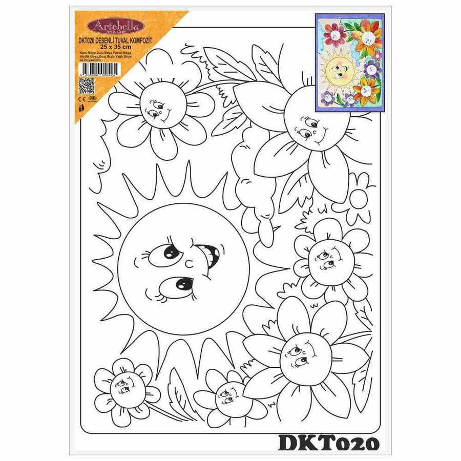 dkt020 desenli tuval kompozit boyama seti 25x35 cm 16324 606451 15 B -Artebella Art & Craft Hobi ve Sanat Ürünleri