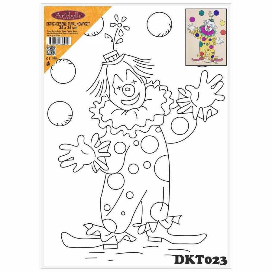 dkt023 desenli tuval kompozit boyama seti 25x35 cm 16327 611819 15 B -Artebella Art & Craft Hobi ve Sanat Ürünleri