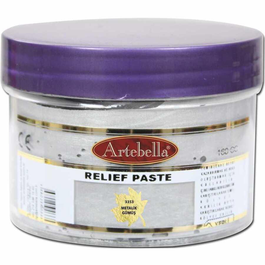 gumus rolyef pasta 609157 17 B -Artebella Art & Craft Hobi ve Sanat Ürünleri