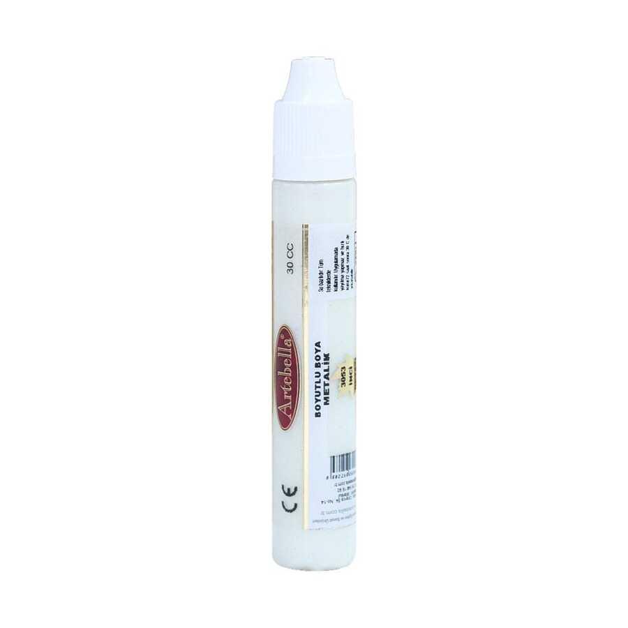 inci beyazi boyutlu boya 597996 14 B -Artebella Art & Craft Hobi ve Sanat Ürünleri