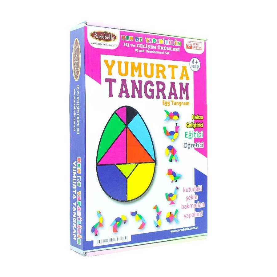 iqtn0004 artebella yumurta tangram 598483 14 B -Artebella Art & Craft Hobi ve Sanat Ürünleri