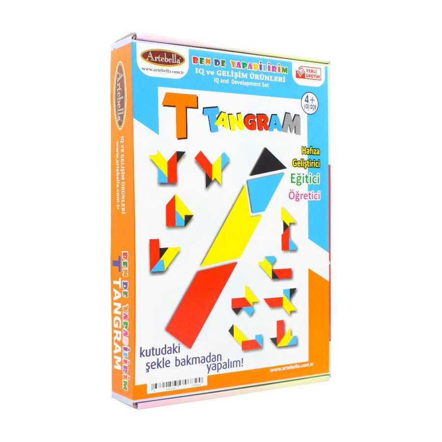 iqtn0005 artebella t tangram 598488 14 B -Artebella Art & Craft Hobi ve Sanat Ürünleri