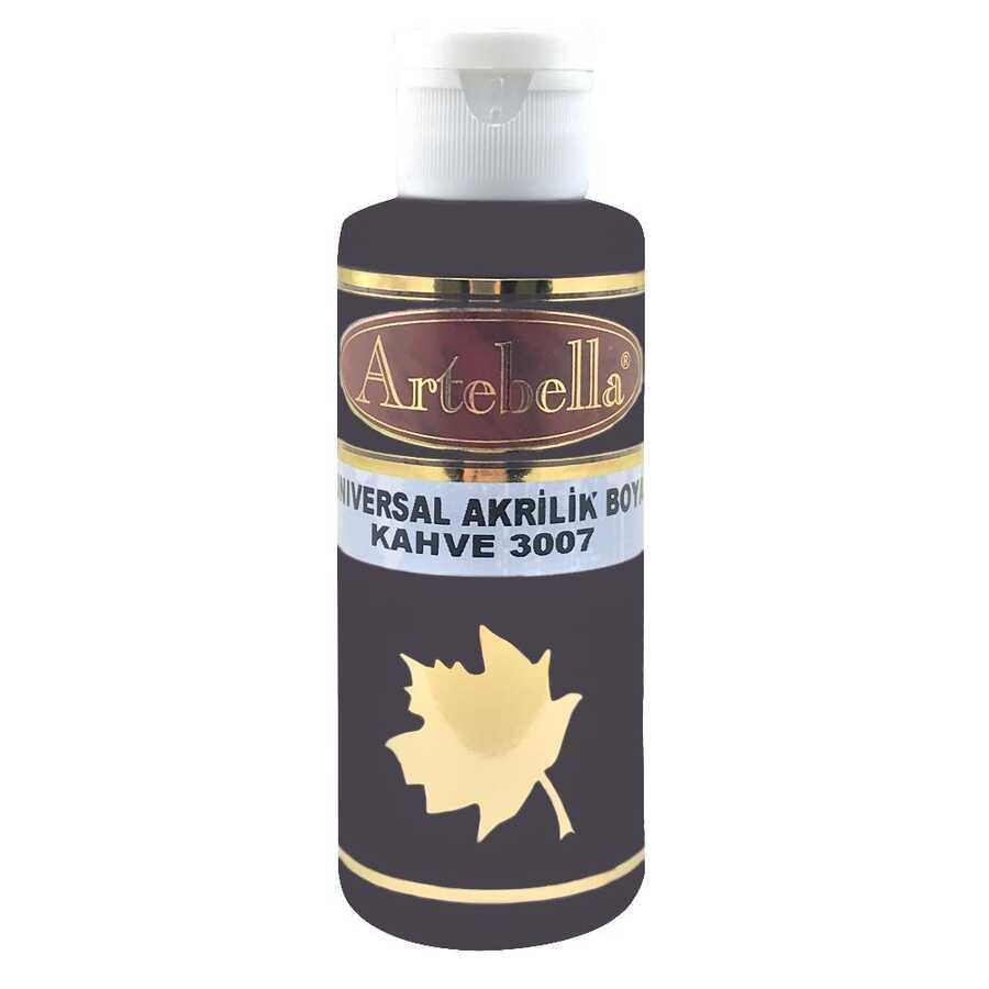 kahve rengi opak boya 130 cc 607312 11 B -Artebella Art & Craft Hobi ve Sanat Ürünleri