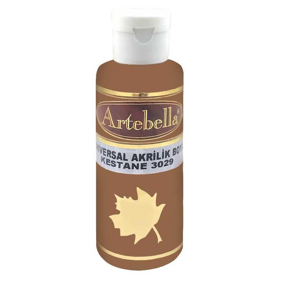 kestane rengi opak boya 130 cc 515599 97 B -Artebella Art & Craft Hobi ve Sanat Ürünleri