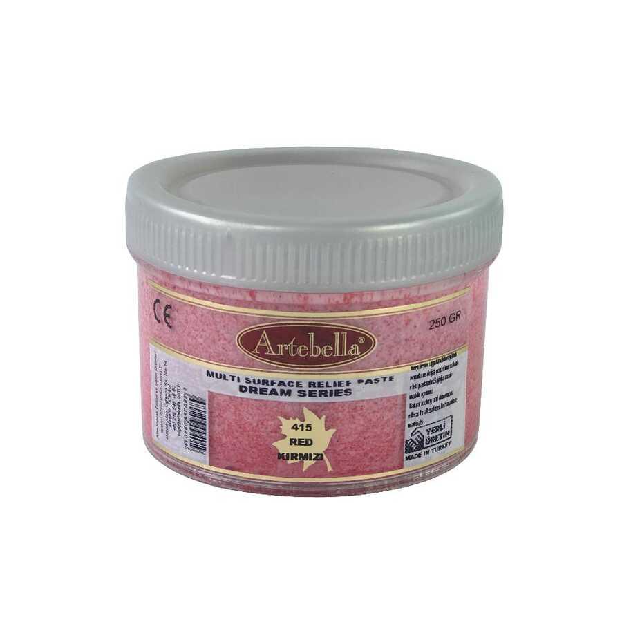 msr415 artebella rolyef pasta dream serisi kirmizi 597526 14 B -Artebella Art & Craft Hobi ve Sanat Ürünleri