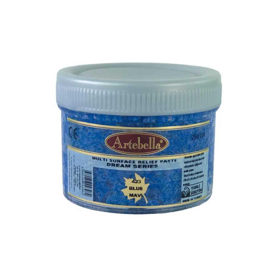 msr423 artebella rolyef pasta dream serisi mavi 597528 14 B