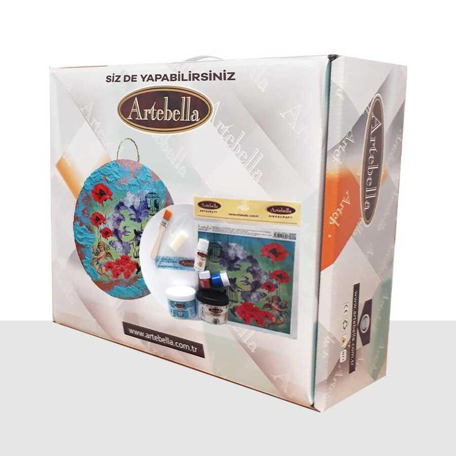 syst0012 sizde yapabilirsiniz set kadin 612101 14 B -Artebella Art & Craft Hobi ve Sanat Ürünleri