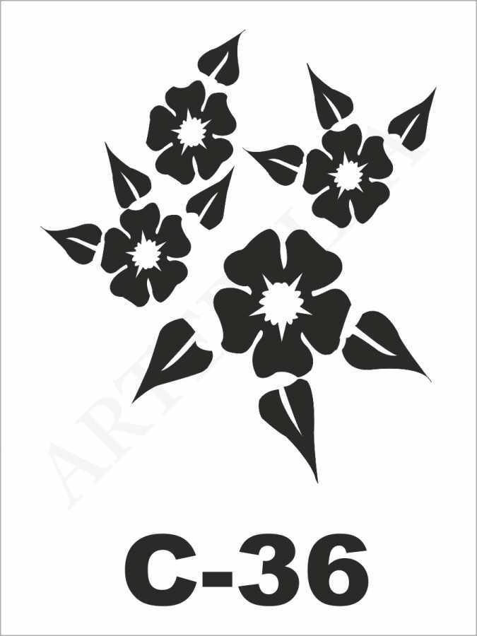 u26926artebella c 36 stencil c serisi 15x20 cm c serisi stenciller 15x20 artebellahtm 596261 26 B -Artebella Art & Craft Hobi ve Sanat Ürünleri