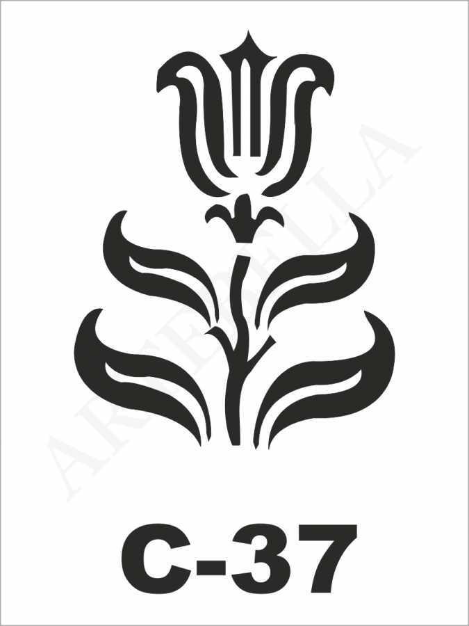 u27026artebella c 37 stencil c serisi 15x20 cm c serisi stenciller 15x20 artebellahtm 599753 27 B