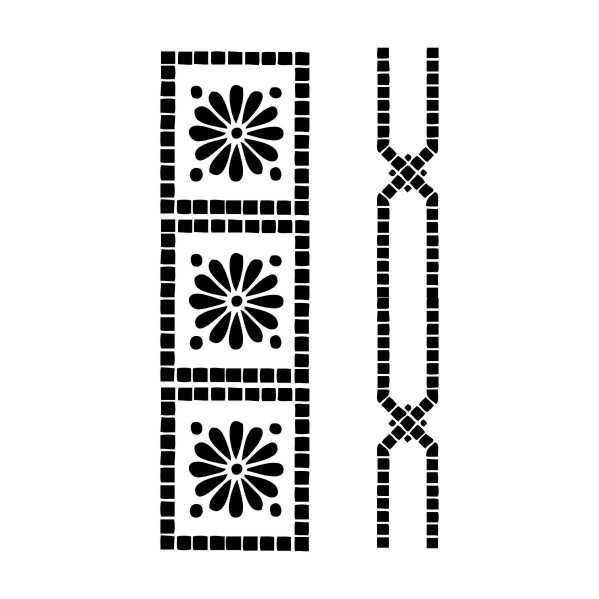 u52430artebella d 10 stencil d serisi 20x30 cm d serisi stenciller 20x30 artebellahtm 607979 52 B
