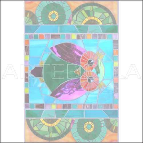 u970154artebella 1571k mozaik transferkoyu zeminde uygulanir23x34cm kolay transfer hayvanlar alemi artebellahtm 596601 97 B -Artebella Art & Craft Hobi ve Sanat Ürünleri