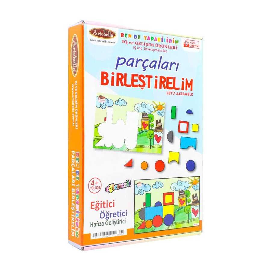 yp001 artebella parcalari birlestirme puzzle 610230 14 B
