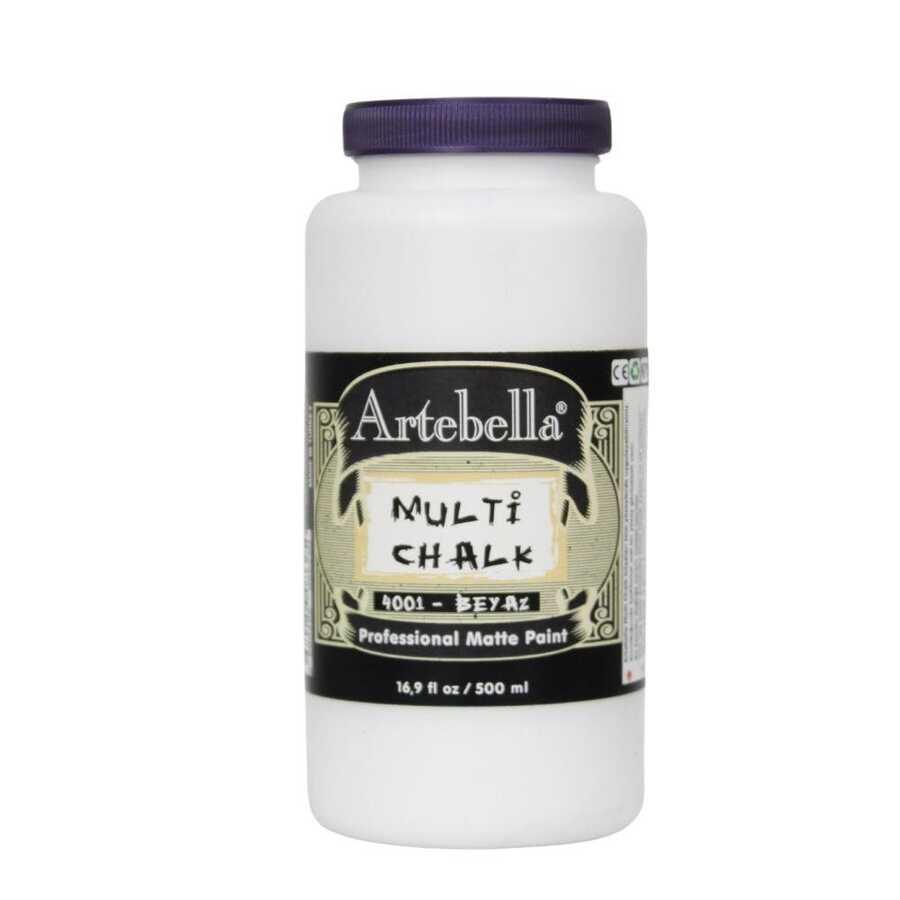 artebella multi chalk 4001500 beyaz 500 ml 612598 15 B -Artebella Art & Craft Hobi ve Sanat Ürünleri