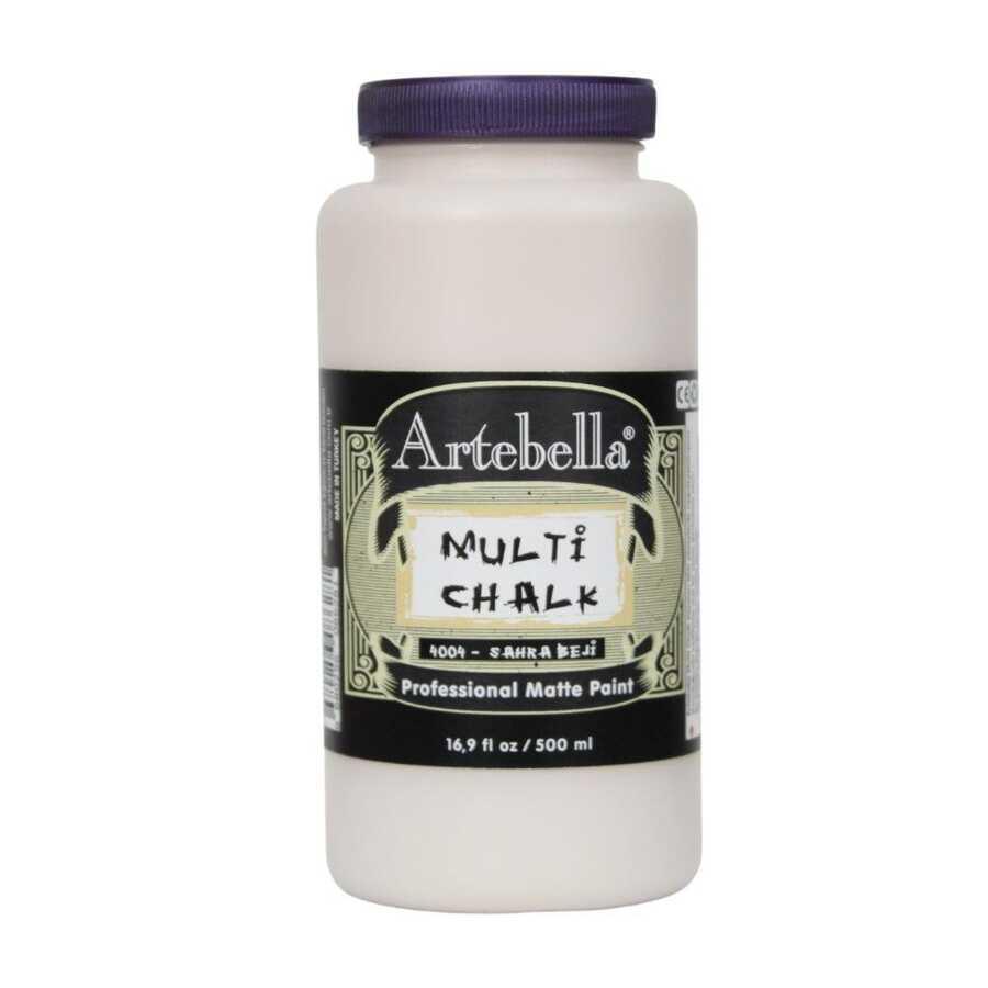 artebella multi chalk 4004500 sahra beji 500 ml 612604 15 B -Artebella Art & Craft Hobi ve Sanat Ürünleri
