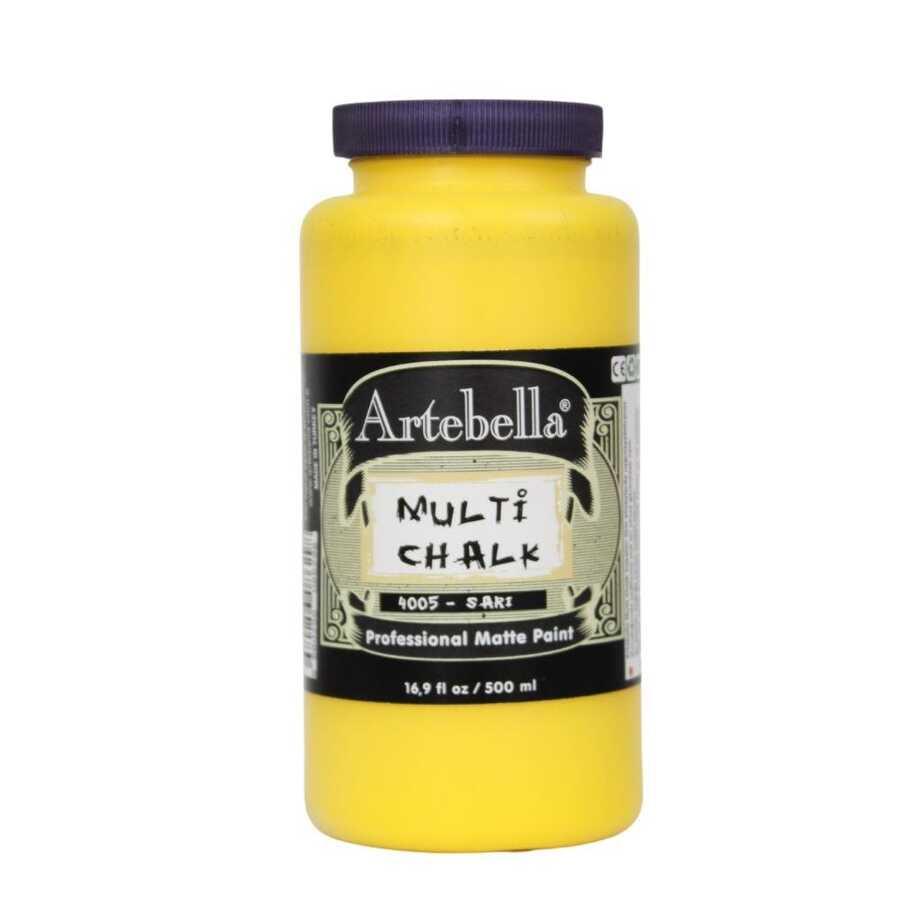 artebella multi chalk 4005500 sari 500 ml 612606 15 B -Artebella Art & Craft Hobi ve Sanat Ürünleri