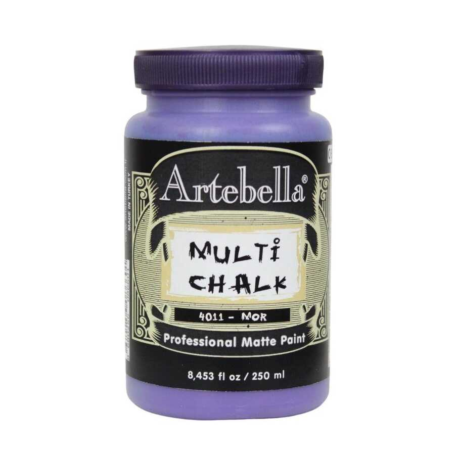 artebella multi chalk 4011250 mor 250 ml 612578 15 B -Artebella Art & Craft Hobi ve Sanat Ürünleri