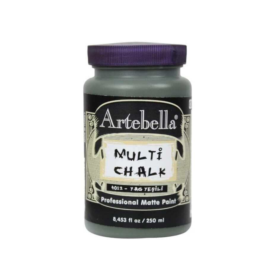artebella multi chalk 4012250 yag yesili 250 ml 612580 15 B -Artebella Art & Craft Hobi ve Sanat Ürünleri