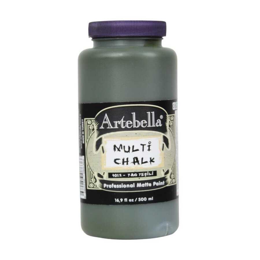 artebella multi chalk 4012500 yag yesili 500 ml 612618 15 B -Artebella Art & Craft Hobi ve Sanat Ürünleri