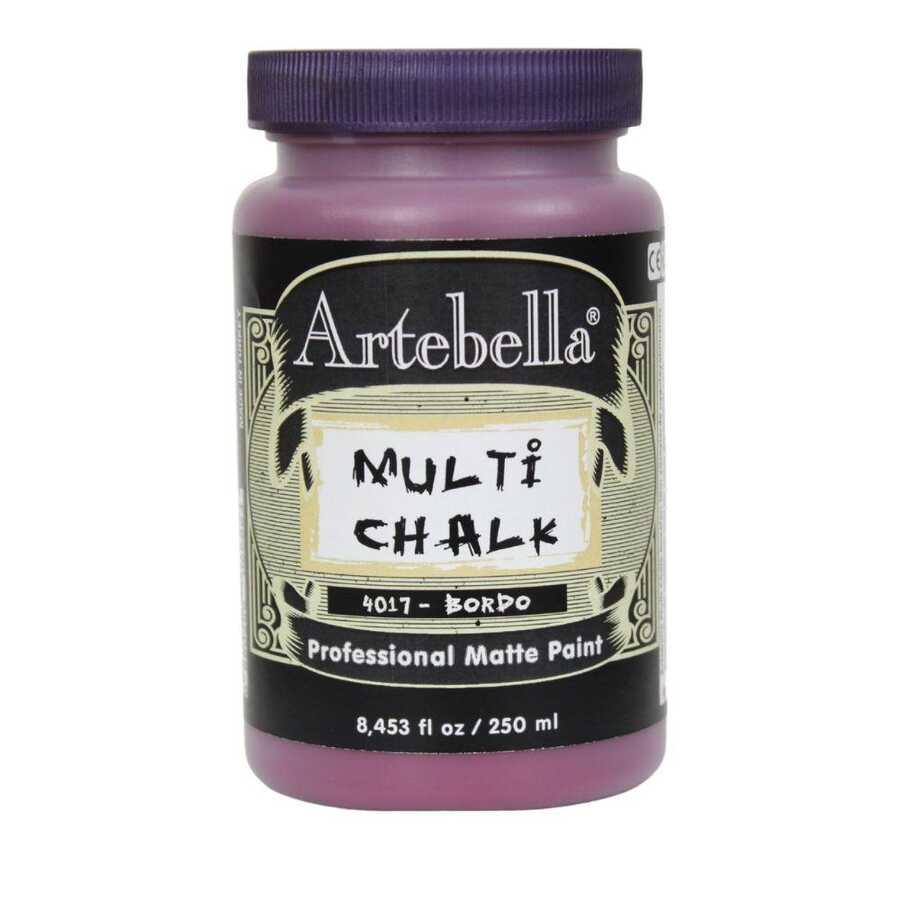 artebella multi chalk 4017250 bordo 250 ml 612590 15 B -Artebella Art & Craft Hobi ve Sanat Ürünleri