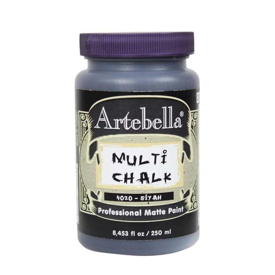 artebella multi chalk 4020250 siyah 250 ml 612596 15 B -Artebella Art & Craft Hobi ve Sanat Ürünleri