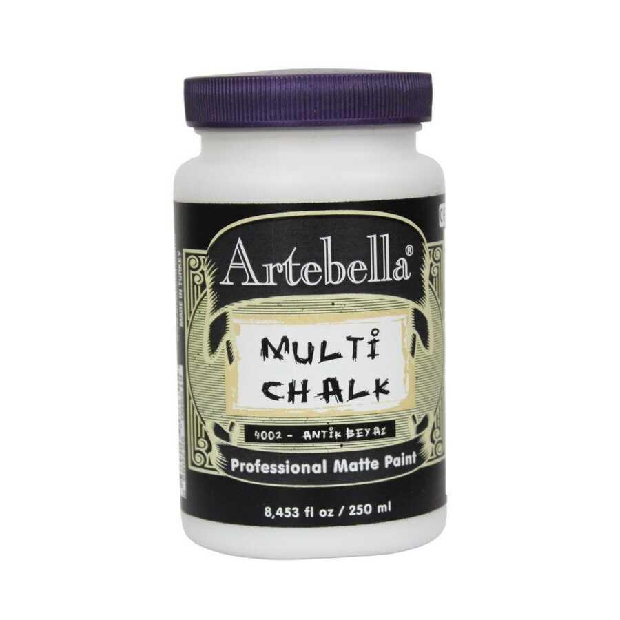 artebella multi chalk antik 4002250 beyaz 250 ml 612560 15 B -Artebella Art & Craft Hobi ve Sanat Ürünleri