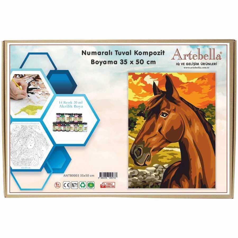 artebella numarali tuval kompozit boyama antb0003 at 35x50 cm 612686 15 B -Artebella Art & Craft Hobi ve Sanat Ürünleri